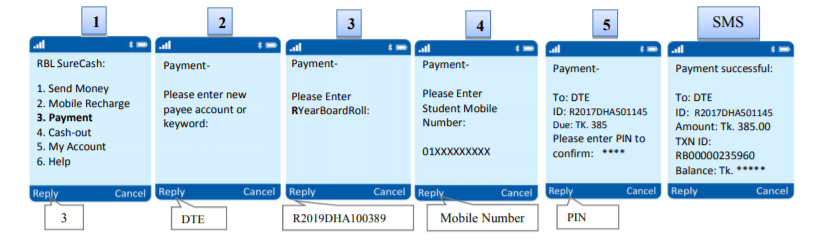 Surecash Payment Method for Polytechnic Admission