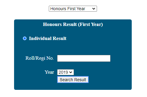 nu honours first year result